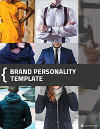 Brand Personality Template cover