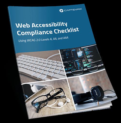 Web accessibility compliance checklist