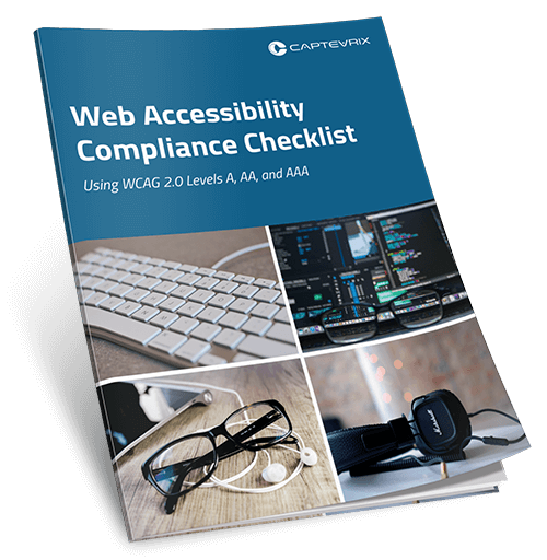 Web Accessibility Compliance Checklist cover